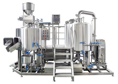 PLC Control Small Brewery Equipment 3BBL Stainless Steel SUS304 Electric Heating