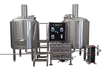 European Standard Large Professional Beer Brewing Equipment With Siemens Motor