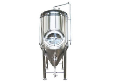 Jacketed Conical Pressure Beer Brewing Kit Brewery Fermentation Unitank